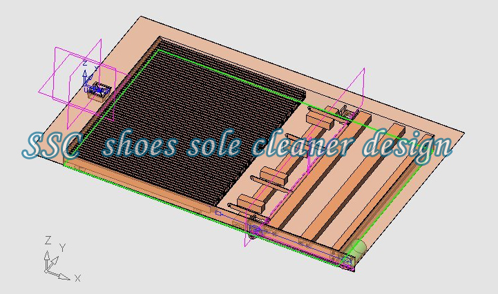 shoes sole cleaner design
